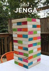 stacked jenga blocks