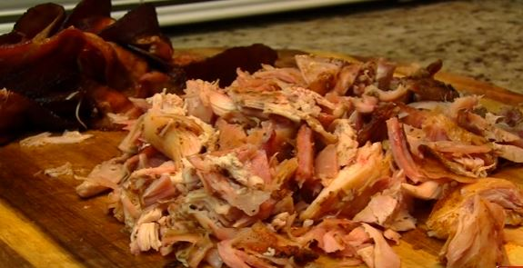 Courtesy www.mothersbbq.com meat in shreds