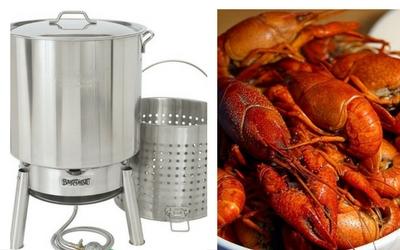 propane cooker crawfish