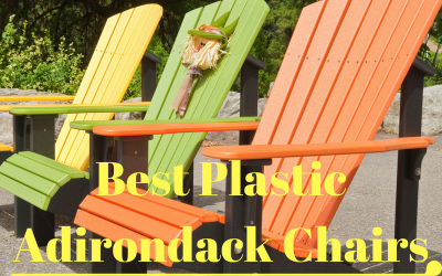 Three Plastic Chairs
