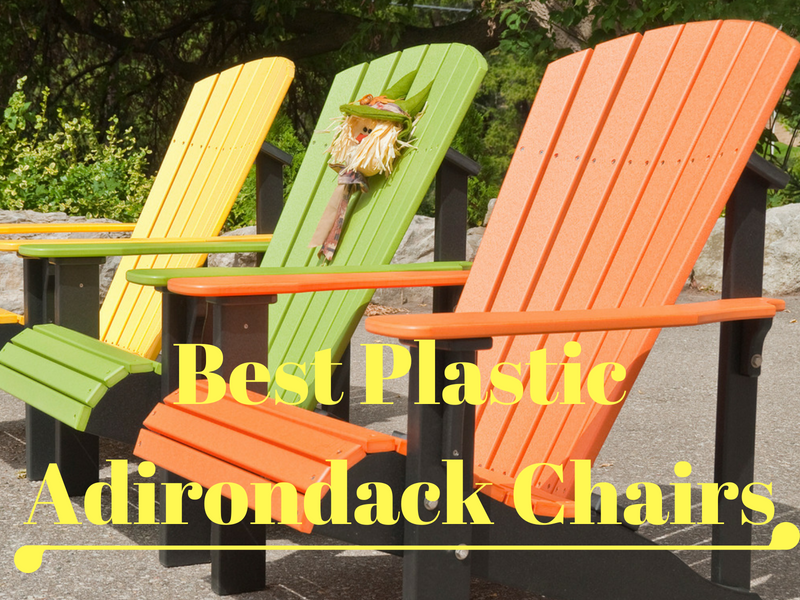 best plastic Adirondack chairs