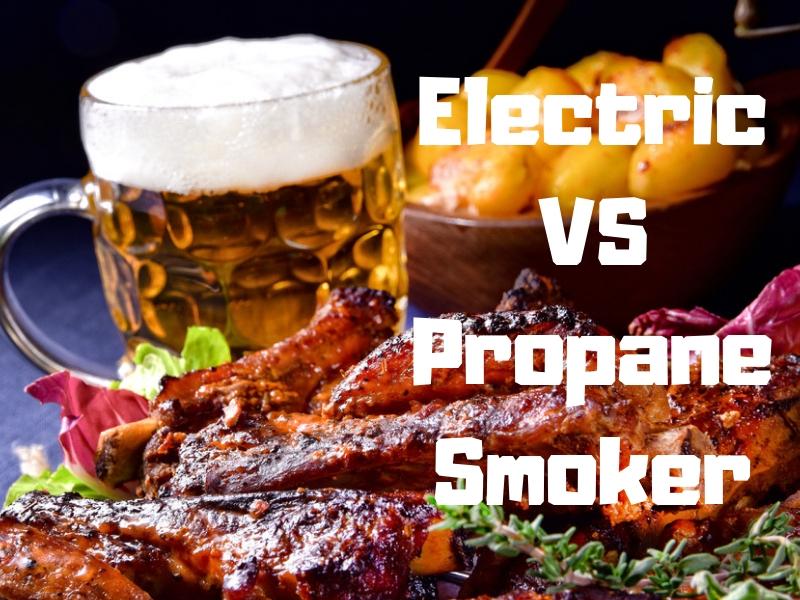 Electric or Propane Smoker