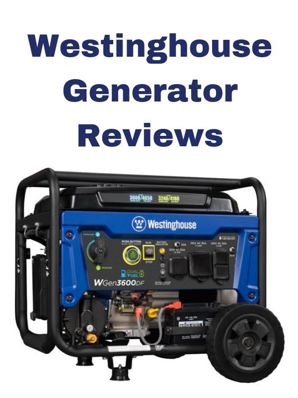 westinghouse generator portable home use