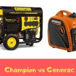 champion vs generac