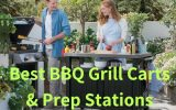 best bbq grill cart, prep station, table outdoor
