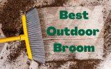 an outdoor broom